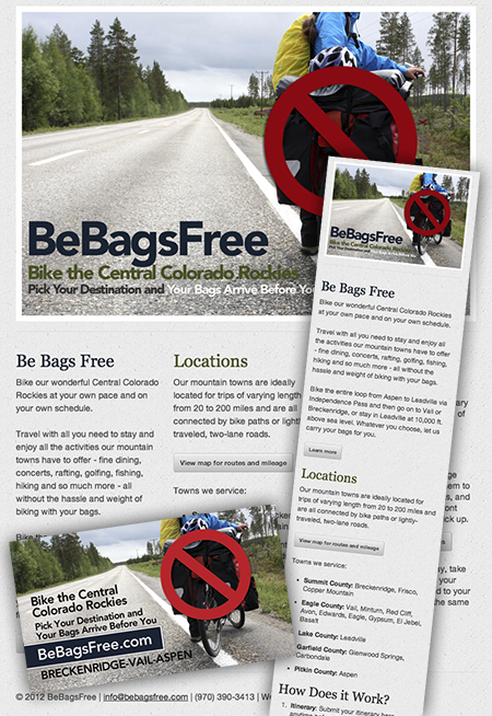 Eagle County, CO Web Designer Example