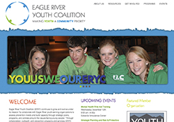 Eagle River Youth Coalition Vail, CO Website Design
