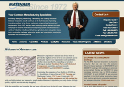 Matenaer Corporation Vail, CO Website Design