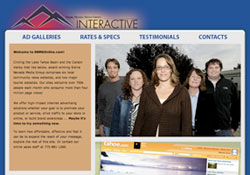 Sierra Nevada Media Group Vail, CO Website Design