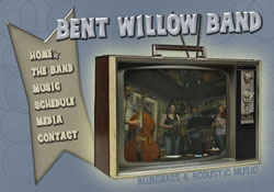 Bent Willow Band Vail, CO Website Design