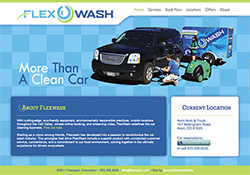 FlexWash Vail, CO Website Design