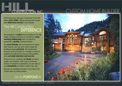 Hill Construction, Inc. Vail, CO Website Design