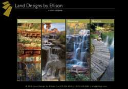 Land Designs by Ellison Vail, CO Website Design