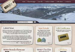 Ptarmigan Sports Vail, CO Website Design