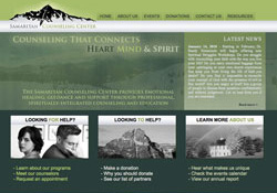 Samaritan Center of the Rockies Vail, CO Website Design